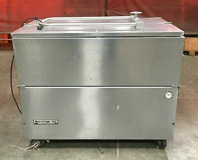 Beverage Air Stainless Rolling Commercial Refrigeratorfreezer Model Sm49n