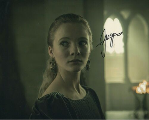 Freya Allen The Witcher Autographed Signed 8x10 Photo COA 2019-10