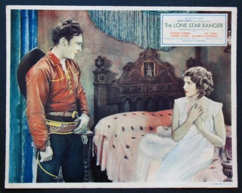 LONE STAR RANGER GEORGE O'BRIEN ZANE GREY WESTERN 1930 LOBBY CARD
