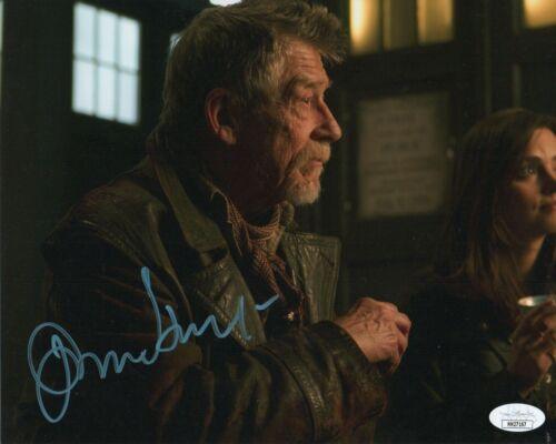 John Hurt Doctor Who Autographed Signed 8x10 Photo JSA COA #20