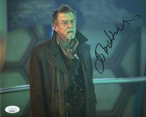 John Hurt Doctor Who Autographed Signed 8x10 Photo JSA COA #26