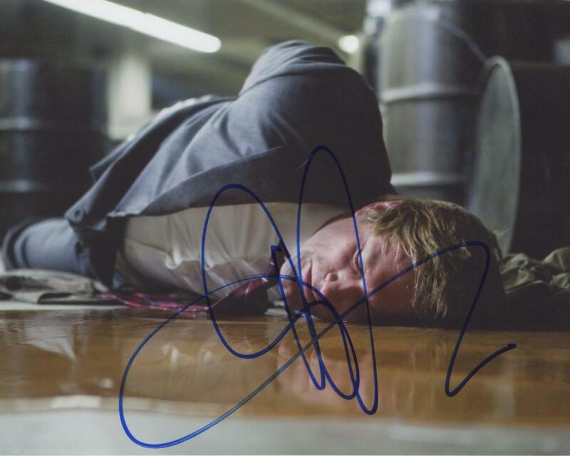 "Aaron Eckhart ""The Dark Knight"" AUTOGRAPH Signed 8x10 Photo"