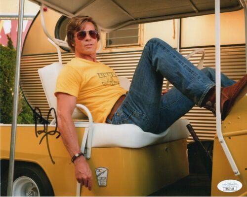 Brad Pitt Once Upon Hollywood Autographed Signed 8x10 Photo JSA COA 2019-1