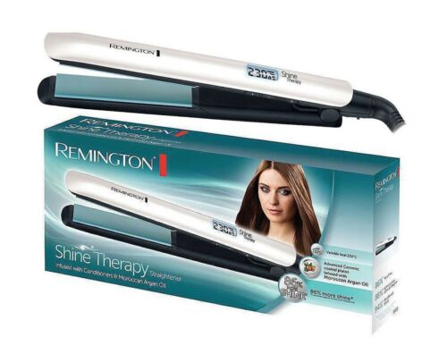 Details about Remington S8500 Women's Moroccan Argan Oil Shine Therapy Hair Straightener 230°C