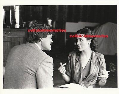 Original Vintage Photo Christina Raines & John Beck Flamingo Road March 1982