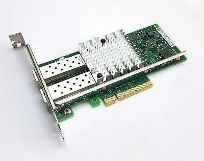 HP 560SFP+ 10 Gigabit 10GBe SFP+ Dual Port Server Adapter LP 669279-001