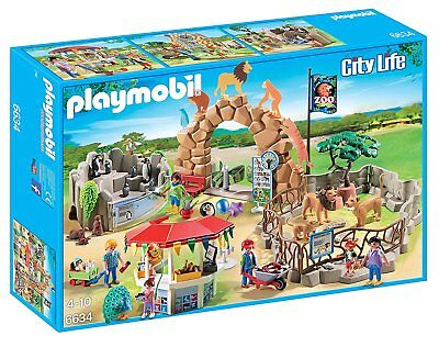 PLAYMOBIL® Large City Zoo 6634  New Opened Box