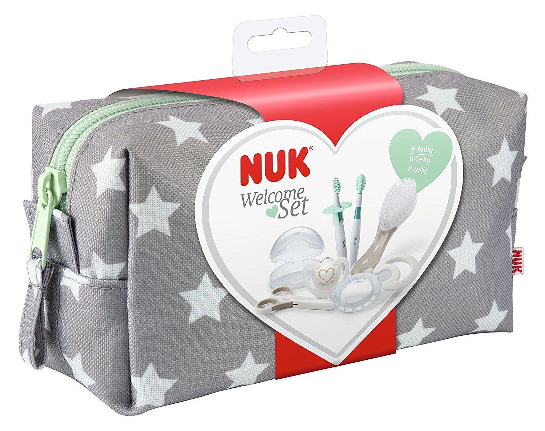 NUK Pflege-Set Neugeborene Erstausstattung Babypflege Babykörperpflege Pflegeset