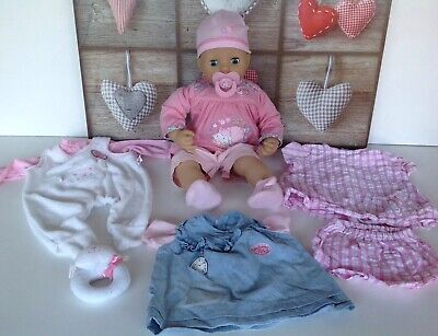 Zapf Creations Baby ANNABELL DOLL Moving Head & Arms Interactive with Sounds
