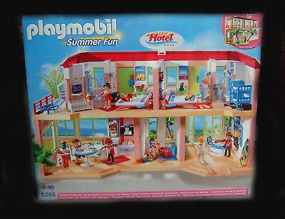 Playmobil Großes Ferienhotel Hotel mit Einrichtung 5265 Summer Fun NEU/OVP