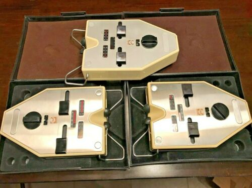 3 Analog Essilor Pupilometer - PD METERS   - Vintage
