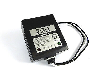 5-2-1 Spd150 Surge Protector 120240v Rated Up To 100000 Amps