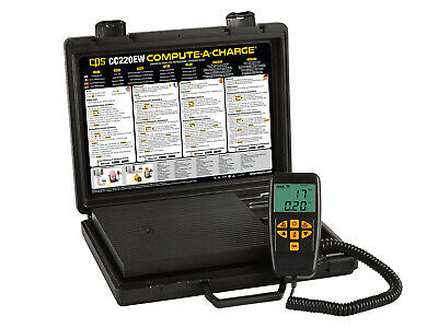 Cps Cc220ew Compute-a-charge Enhanced Wireless Refrigerant Charging Scale