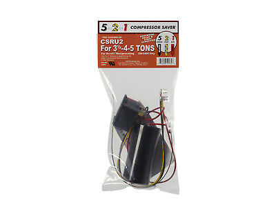 5-2-1 Csru2 Compressor Saver - Potential Relay Capacitor 3-12-4-5 Tons