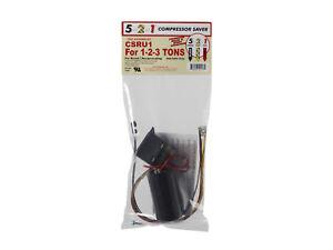 5-2-1 CSRU1 Compressor Saver - Potential Relay/Hard Start Capacitor - 1-2-3 Tons