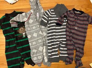 6 month old onesies (14 pc for $20)