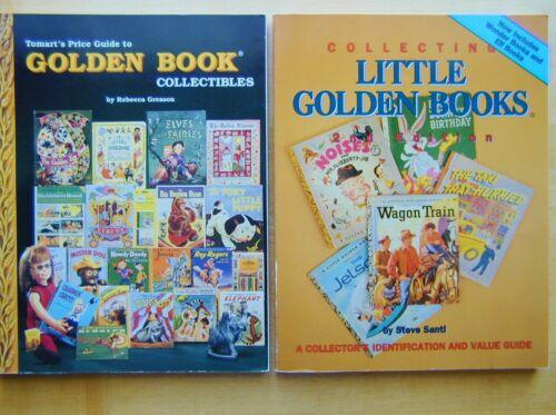 2 Golden Book Collectibles Identification Price Guides Steve Santi Rebec Greason