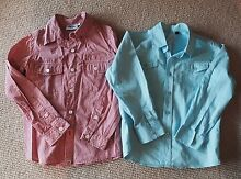 Boys LS Dress Shirts Size 7 Warner Pine Rivers Area Preview