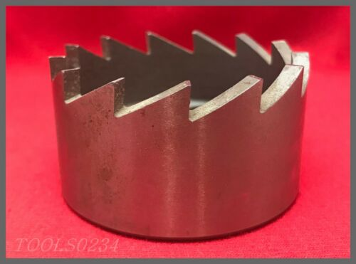 """California Aircraft Tool Co. 13-Tooth Hole Saw - AT414-31  2-1/4"""" - 1/2-20"""