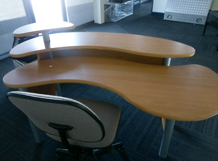 Reception counter or desk