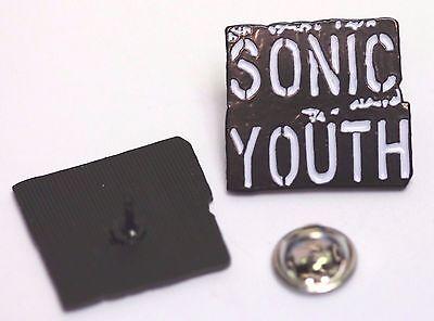 SONIC YOUTH LOGO PIN (MBA 667)