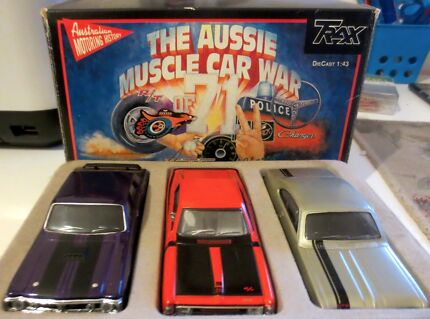 Trax TRG 1 Aussie Muscle Car Set of 3 - 1/43 Scale Corinda Brisbane South West Preview