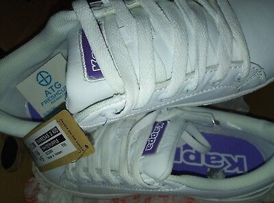 Kappa MARESA 2 Trainers  NEW size 5 new in box WHITE / PURPLE ( TOP OF STAIRS ) for sale  Shipping to Ireland