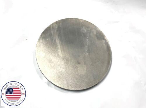 """1/8"""" Aluminum 5052 Plate Round Circle Disc 6"""" (.125"""")"""