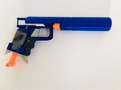 Nerf Jolt Custom Silencer Blue | Custom Nerf Gun Attachment | Nerf Gun Mod
