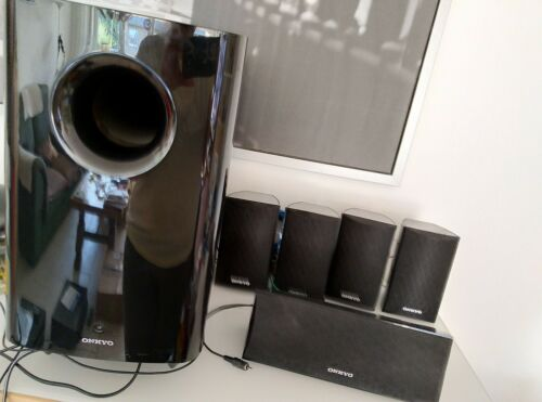 Onkyo HTP - 528 Surround Lautsprecher 5.1 Soundpaket Heimkino Lautsprechersystem