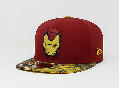 New Era 59Fifty Hat Mens Visor Story Official - Marvel Hat
