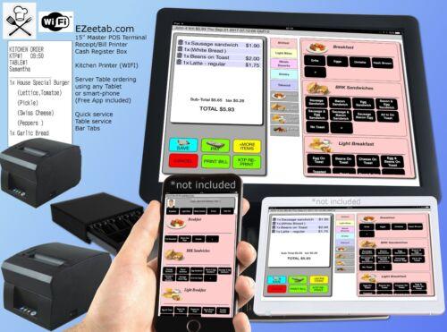 Restaurant Bar POS system Point of saleregister + Order printer (isnt aldalo)