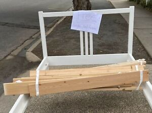 FREE - single bed frame - click on photos for full view