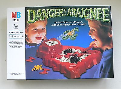 Vintage MB Milton Bradley Halloween Game DANGER SPIDER battery operated MIB 1988