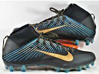 835646-015 Nike Vapor Untouchable 2 Football Cleats Black Metallic Gold SZ