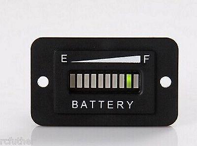 36V LED Battery Indicator Meter Gauge for EZGO Club Car Yamaha Golf RV Boat