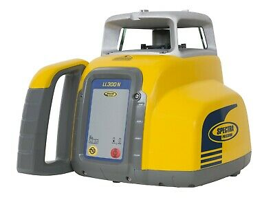 Spectra Precision Ll300n-8 Construction Rotary Laser With Hr320 Receiver