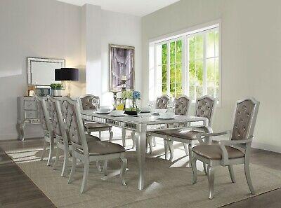 Acme Furniture Francesca 9 Piece Dining Room Set