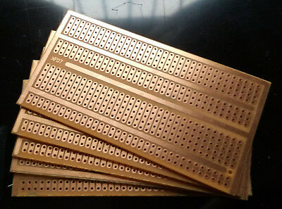 5pcs 5x9.5cm Stripboard Prototype Circuit Perf Board Bus Breadboard Vero Pcb