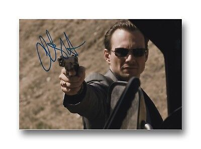 CHRISTIAN SLATER HAND SIGNED 12X8 PHOTO YOUNG GUNS.
