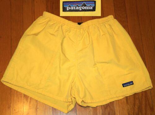 VINTAGE PATAGONIA Baggies Shorts Swim Trunks  Mesh Lined Snap Pocket EC M medium