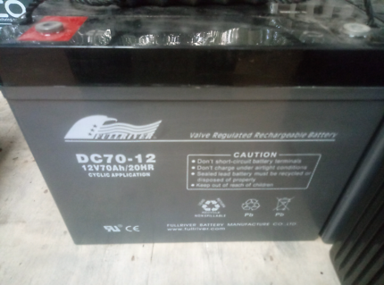 12v 70ah batteries.  Full river.  Hocking Wanneroo Area Preview