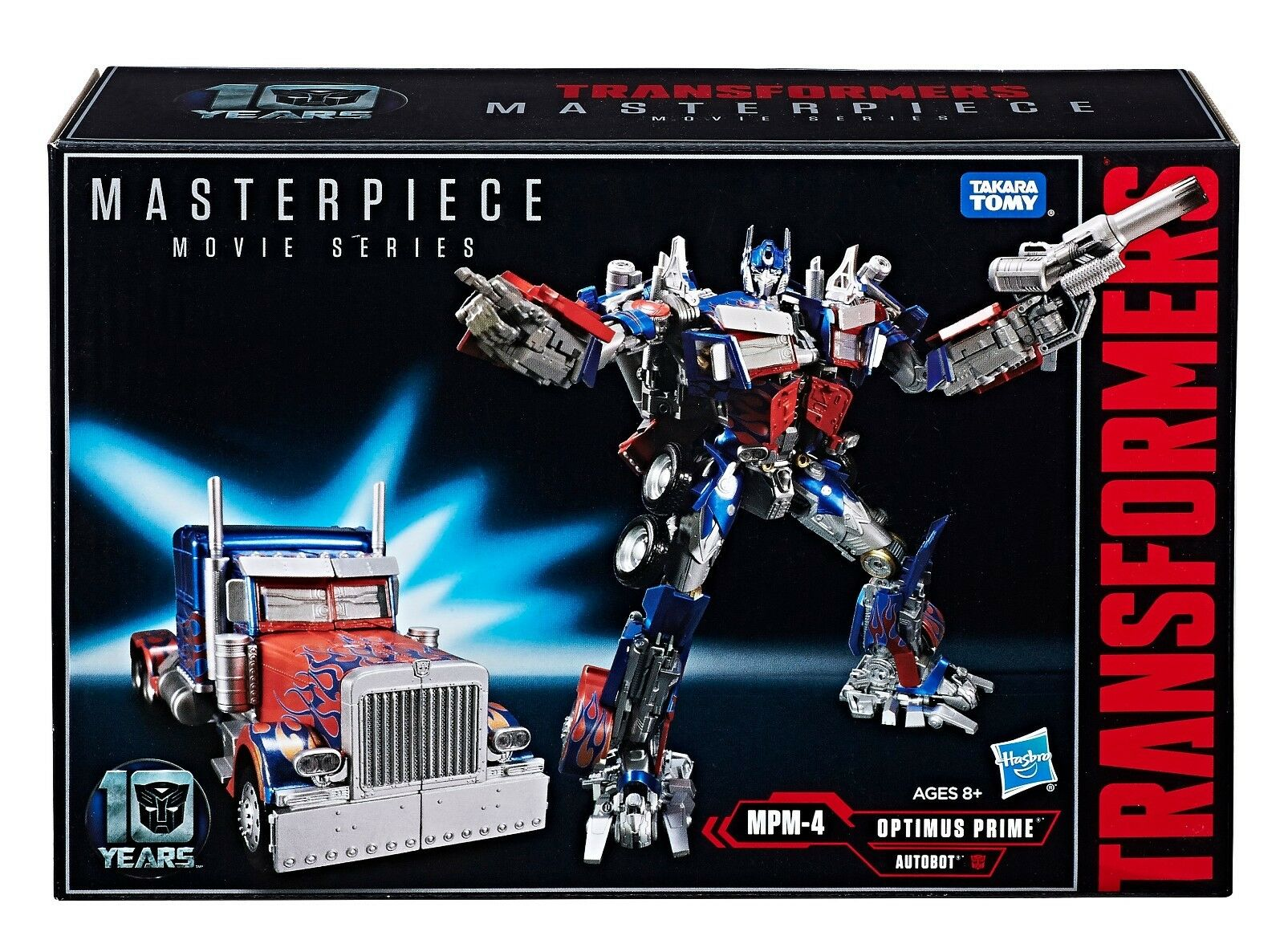 takara tomy transformers masterpiece mpm-04 optimus prime mpm-4
