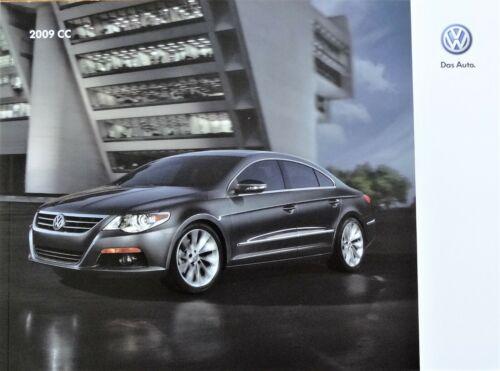 2009 VW ~ Volkswagen CC Brochure