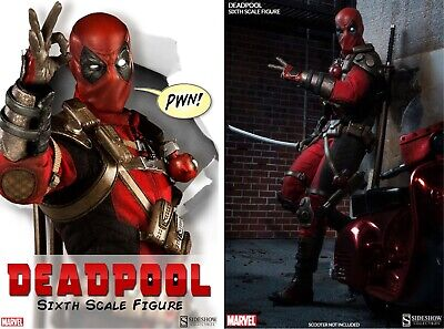 DEADPOOL 1/6 scale Collector Edition Sideshow Collectibles