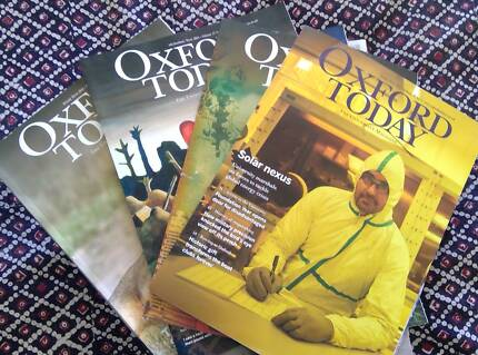 Oxford Today magazines - any interest?