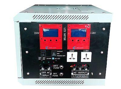 10000w LF pure sine wave SPLITE PHASE power inverter dc 48v/ac110V/220V