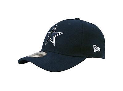 NEW ERA 9Forty NFL Dallas Cowboys Navy White Strapback Cap Adjustable Men Hat