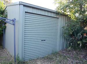 Portable Garage or Shed with Electric Roller Door ...