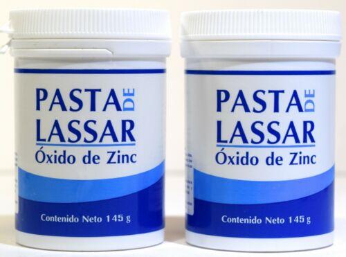 PASTA DE LASSAR Diaper Rash Ointment Bottle 145g. (5.12oz)each  Pack of 2